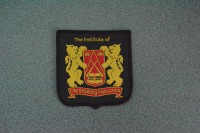 Woven Cloth Badge (Small Shield) (Large)