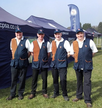 ICSI Coaches at Northern Shooting Show