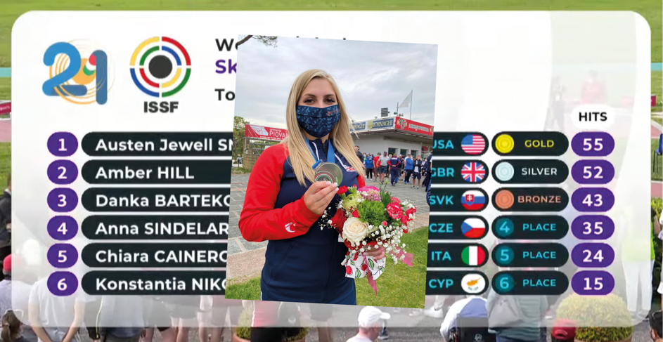 Hill Wins Silver In Italy