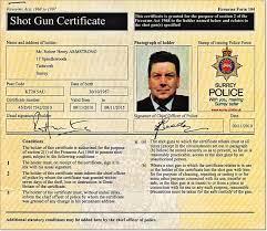 Shotgun Certificate (Page 1) - Line.17QQ.com